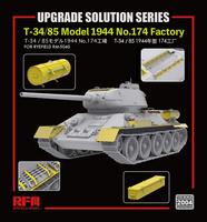 Upgrade Set for T-34/85 Model 1944 Zavod 174  1/35