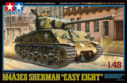 "M4A3E8 Sherman ""Easy Eight""  1/48"