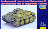 Reconnaissance Tank on Bergepanzer 38t Chassis  1/72