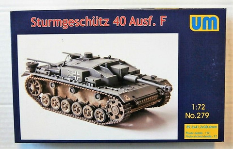 StuG III Ausf.F  1/72