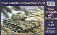T-34/85 with S-53 Gun  1/72