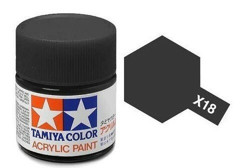 Semi Gloss Black 23ml