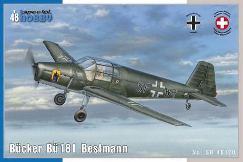 Bucker Bu-181 Bestmann  1/48