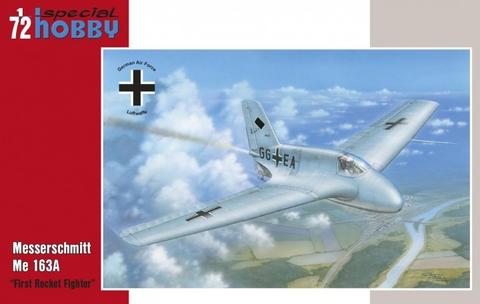 Messerschmitt Me163A Komet  1/72