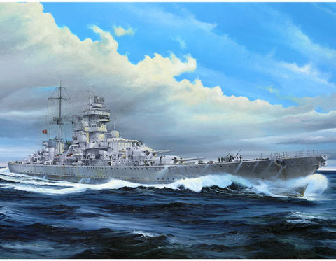 Prinz Eugen German Heavy Cruiser 1945  1/350
