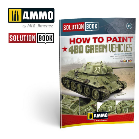 How to Paint 4BO Green Vehicles (Solution Book)