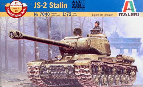 IS-2M Soviet Heavy Tank  1/72
