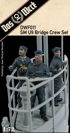 SM U9 Bridge Crew Set  1/72