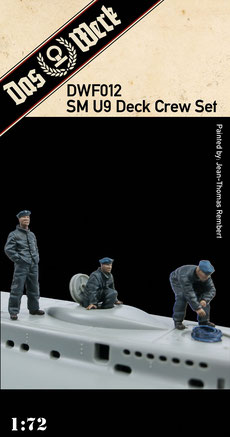 SM U9 Deck Crew Set  1/72