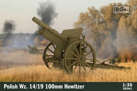 Polish Wz.14/19 100mm Howitzer  1/35