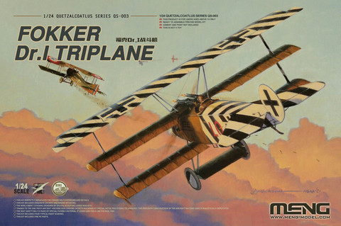 Fokker Dr.I Triplane  1/24