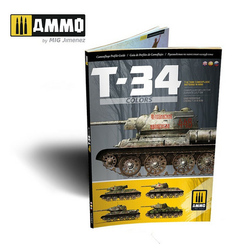 T-34 Colors, T-34 Camouflage Patterns in WWII