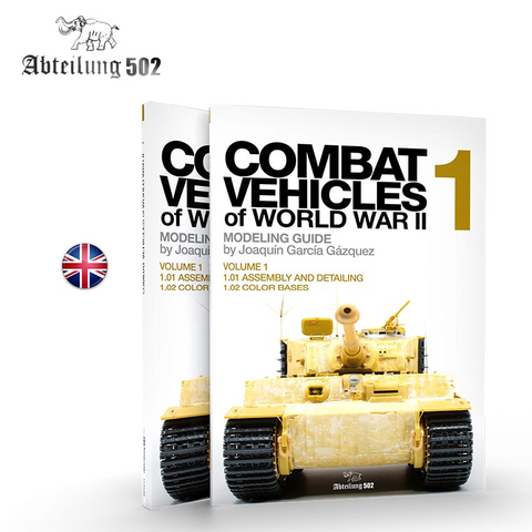 Combat Vehicles of WWII Vol.1 Assembly and Detailing, Color Bases