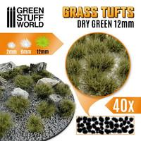 Grass Tufts 12mm XL Dry Green