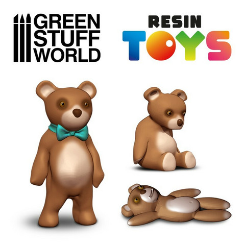 Teddy Bears Resin Set