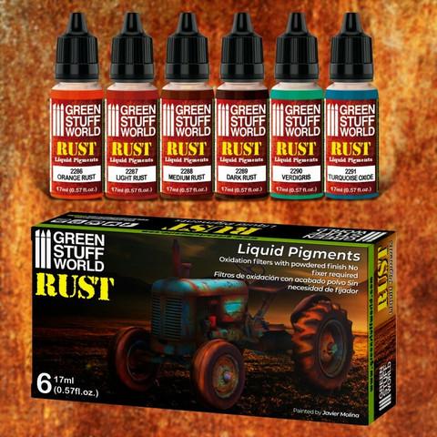 Rust Set 6 x 17ml