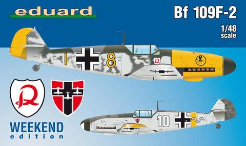 Messerschmitt Bf 109F-2 (Weekend Edition)  1/48