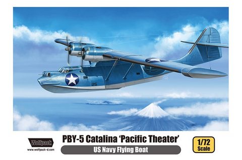 PBY 5 Catalina US Navy Flying Boat Pacific Theatre  1/72