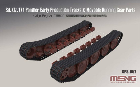 Panther Ausf.A (Early) Tracks and Moveable Running Gear  1/35