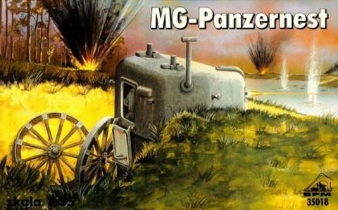 MG-Panzernest  1/35