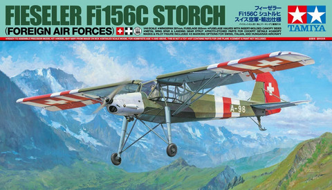Fieseler Fi156C Storch (Foreign Air Forces)  1/48