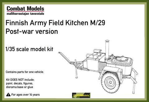 Finnish Army Field Kitchen M/29 Post War  1/35