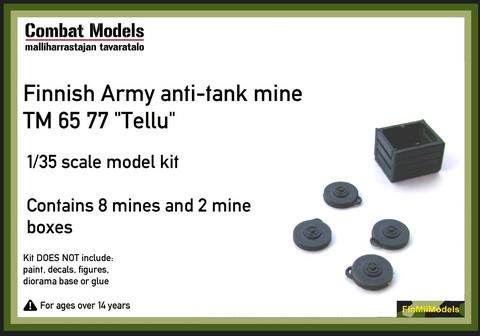 Finnish Army Anti-Tank Mine TM 65 77 'Tellu Telamiina'  1/35