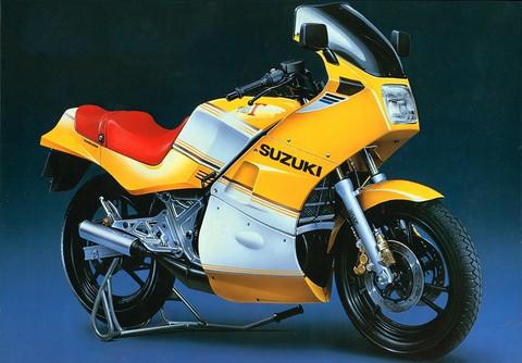 Suzuki GJ21A RG250 1984  1/12