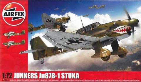 Junkers Ju87 B-1 Stuka  1/72