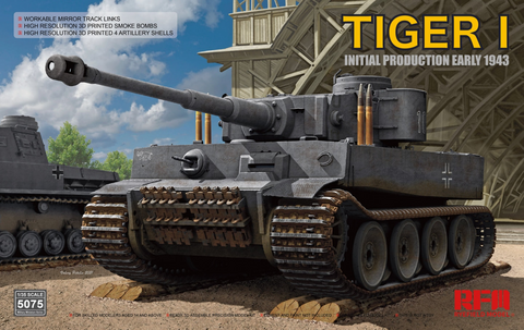 Tiger I 100# Initial Production Early 1943  1/35