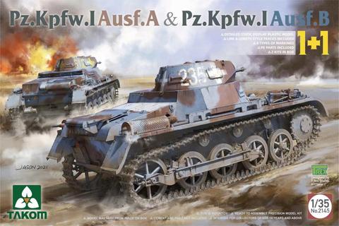 PzKpfw I Ausf.A & PzKpfw I Ausf.B (1+1)  1/35