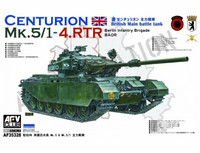 Centurion Mk.5/1-4.RTR Berlin Brigade/BAOR  1/35