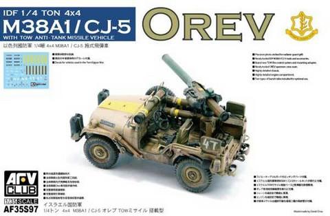 IDF ¼ ton 4X4 Anti-Tank M38A1/CJ5 'Orev' 25€