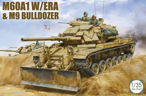 M60A1 with Era & M9 Bulldozer   1/35