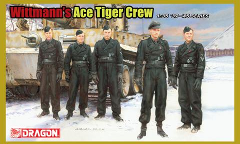 Wittmann's Ace Tiger Crew  1/35