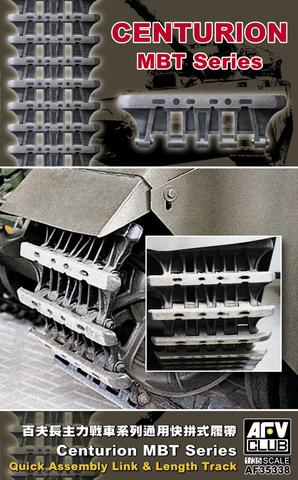 Quick Assembly Tracks for Centurion Tanks  1/35