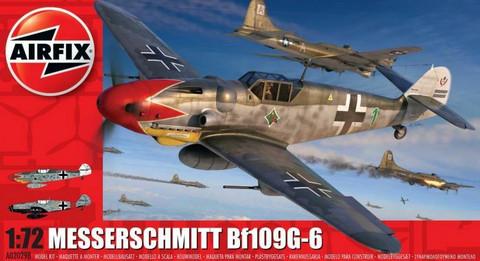 Messerschmitt Bf109 G-6  1/72