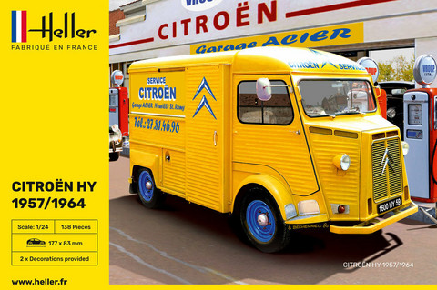 Citroen HY 57/64 Service Citroen1/24