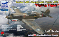 """Curtiss P-40C """"Flying Tigers"""" 1/48"""