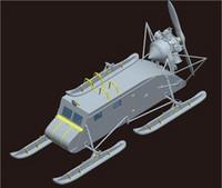 Soviet NKL 16 Armored Aerosan 1/35