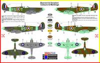 """Supermarine Spitfire Mk.VB """"Aces"""" 1/72"""