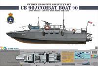 CB-90 H Swedish Fast Assault Craft 1/35