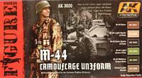 M-44 Camouflage Uniform Paint Set