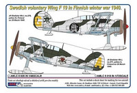Swedish Voluntary Wing F19 in Finnish Winter War 1/72