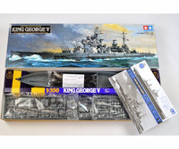 King George V British Battle Ship 1/350