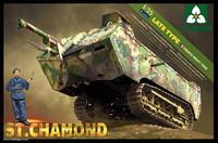 St Chamond (Late Type) French Heavy Tank 1918 1/35