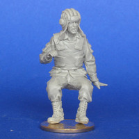 """The Russian soldier, BTR-70 driver.(for """"Zvezda"""" BTR-70). Afghanistan 1/35"""