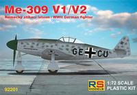 Messerschmitt Me-309V-1/V-2 1/72