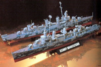 DD445 Fletcher US. Destroyer 1/350