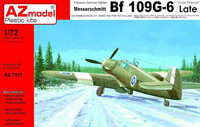 "Messerschmitt Bf 109G-6 Late ""Over Finland"" 1/72"